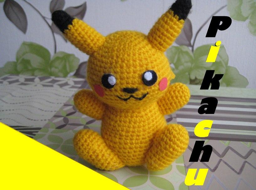 Amigurumi Pikachu by YarnYard on DeviantArt
