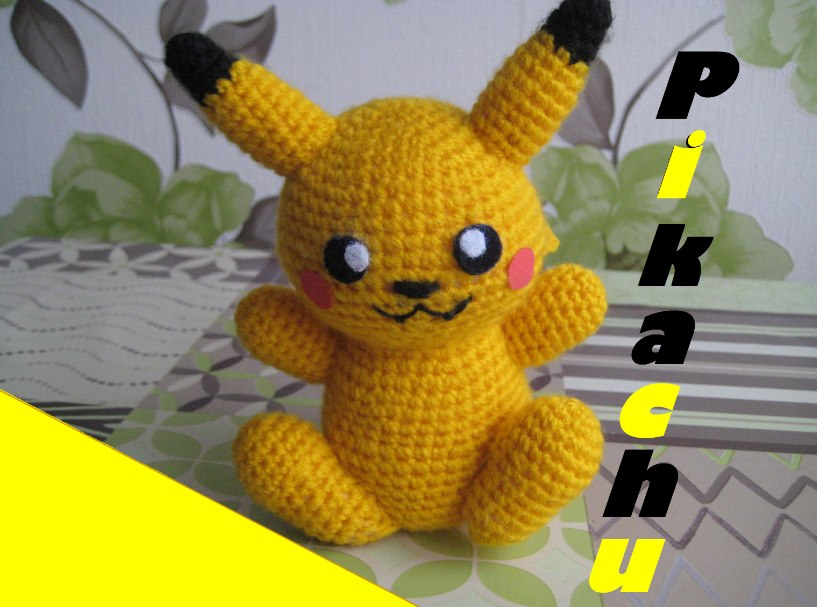 Ravelry: Pikachu pattern by Katie O | 607x817