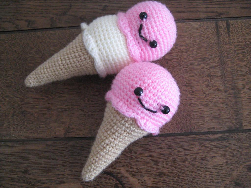 Amigurumi Ice Creams by YarnYard on DeviantArt
