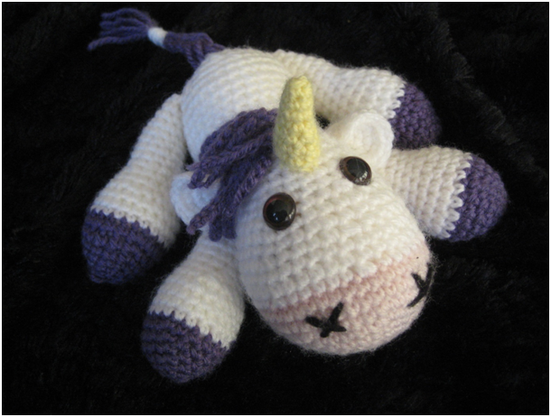 Unicorn Amigurumi Yarn Yard : Amigurumi Unicorn by YarnYard on DeviantArt