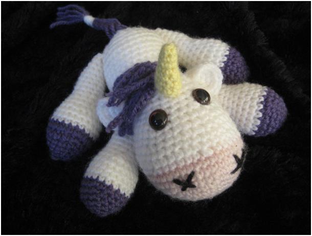 Amigurumi Unicorn : Amigurumi unicorn by yarnyard on deviantart
