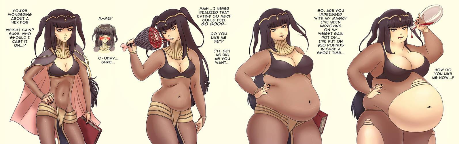 Dark Mage Weight Gain
