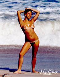 Une plage en Floride by madlynx