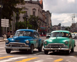 Old Havana car by madlynx