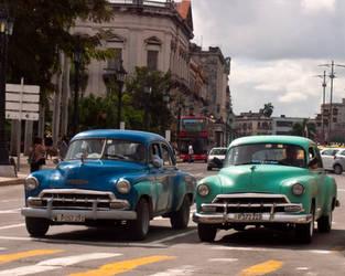 Old Havana car by madlynx
