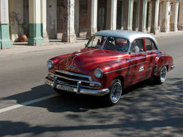 Old Havana car III by madlynx