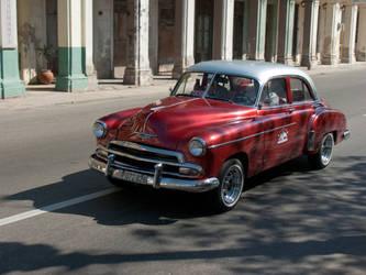 Old Havana car III by madlynx