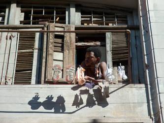 Habana Vieja Clothes line