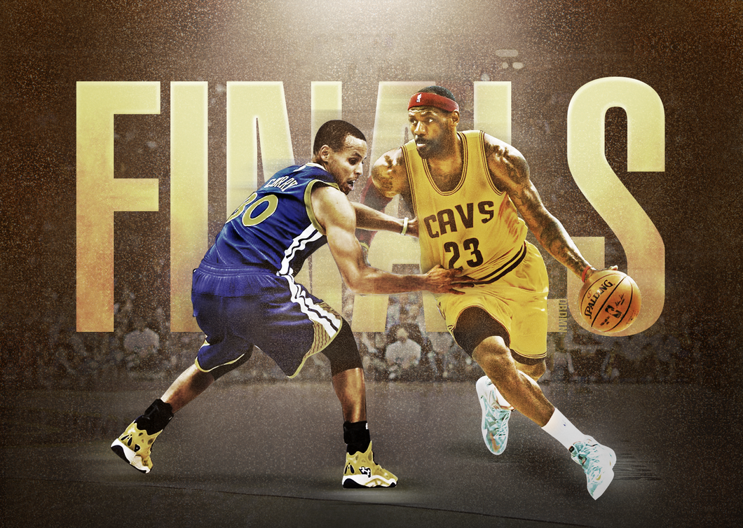 Golden State Warriors vs Cleveland Cavaliers in 2016 NBA ...
