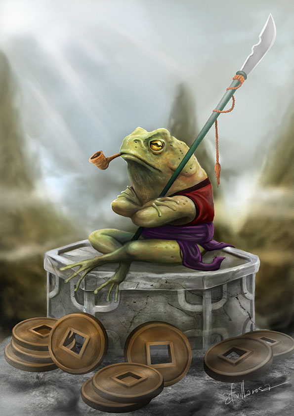 Guardian toad by cvillarosa