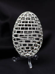 carved goose eggshell (14092013) by peregrin71