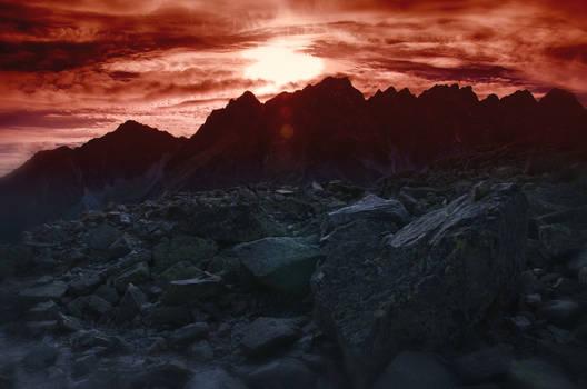 The walls of Mordor