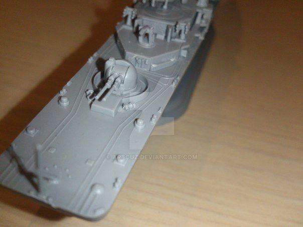 Russian Destroyer Sovremennyi by ArtCuz