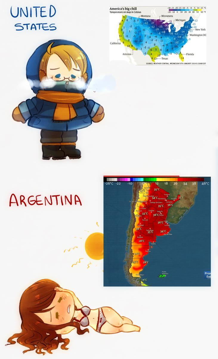 Opposite Hemispheres by FlopyLopez