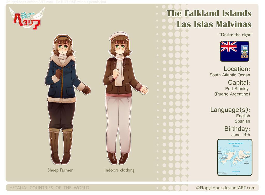 Hetalia OC: Falklands/Malvinas by FlopyLopez