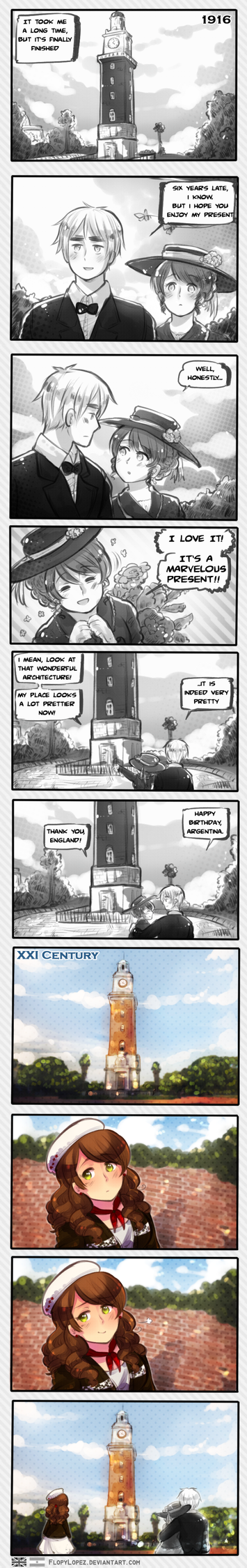 The Tower of the English by FlopyLopez