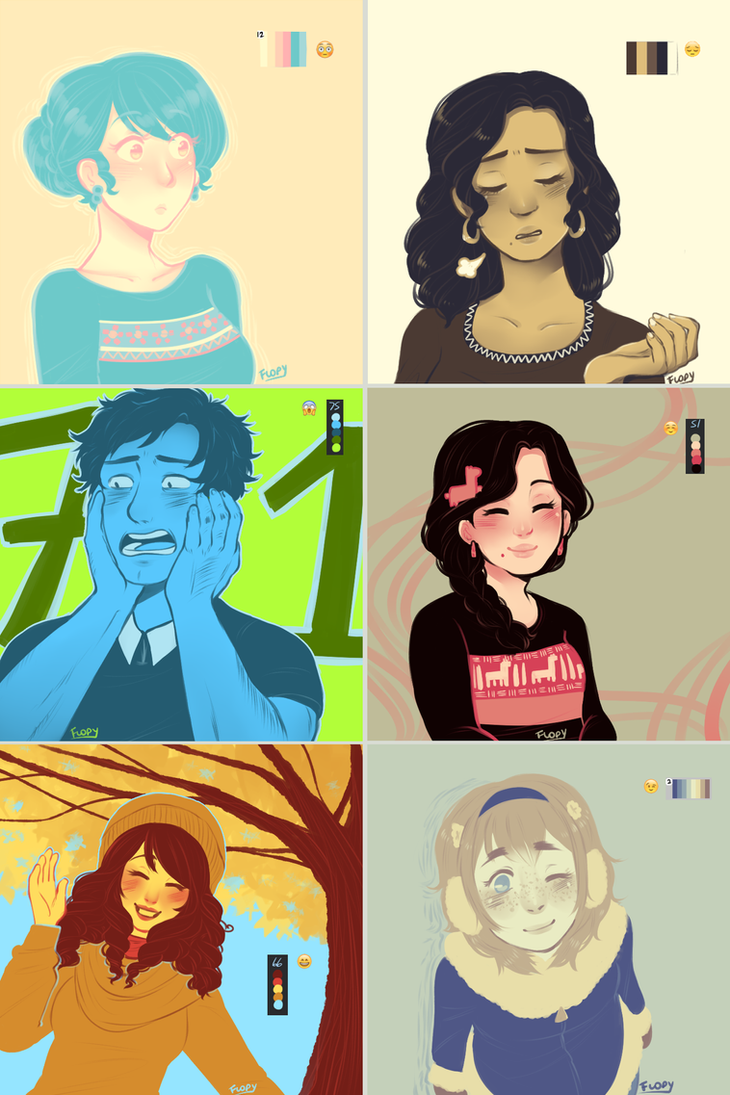 ocs in colours by FlopyLopez