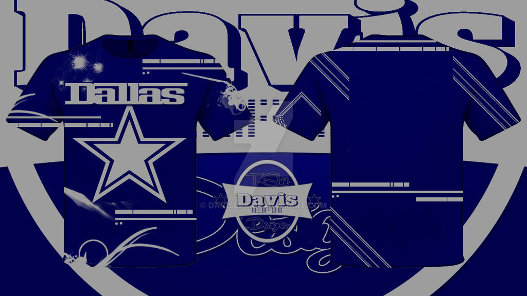 89dedb13f99 Dallas Cowboys Tshirt Design by davisefx on DeviantArt