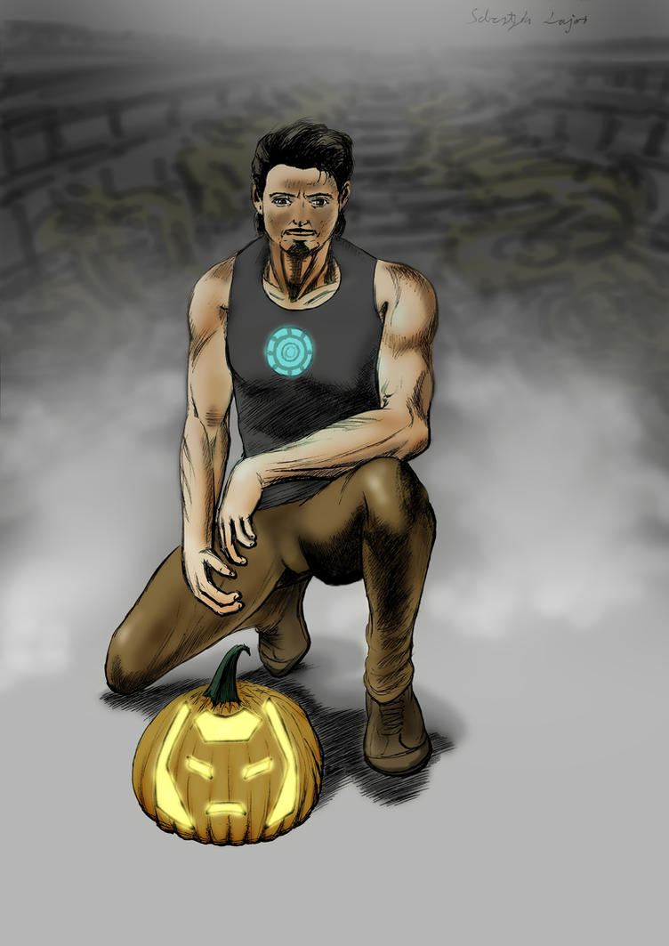 Iron Pumpkin by LaYoosh