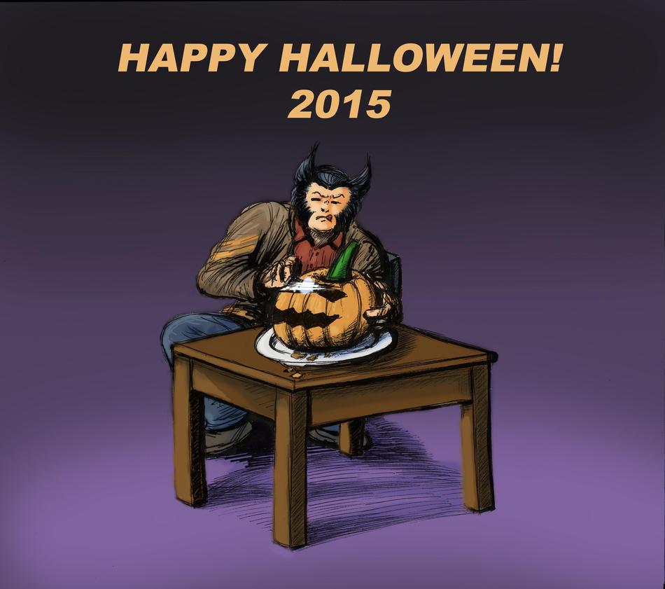 Happy Halloween 2015 by LaYoosh