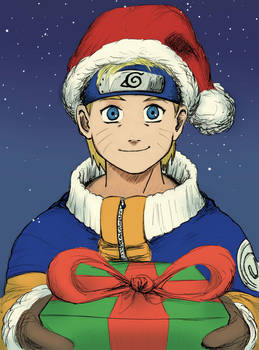 Naruto Christmas colour