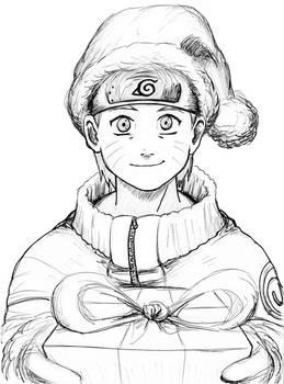 Naruto Christmas bnw