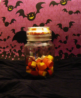 Jar of Evil Deeds to be Done by lecoeurblanc
