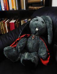 Vampire Lord Bunny von Zarovich of Rabbitloft by lecoeurblanc
