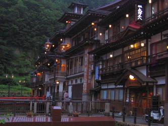 Ginzan onsen by koto-tama