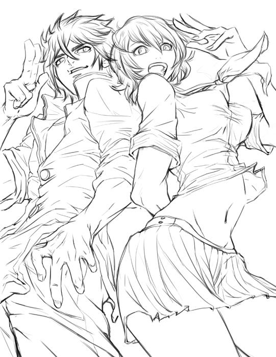 Kabamaru_Sketch by SantaFung