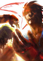 Street fighter Tribute by SantaFung
