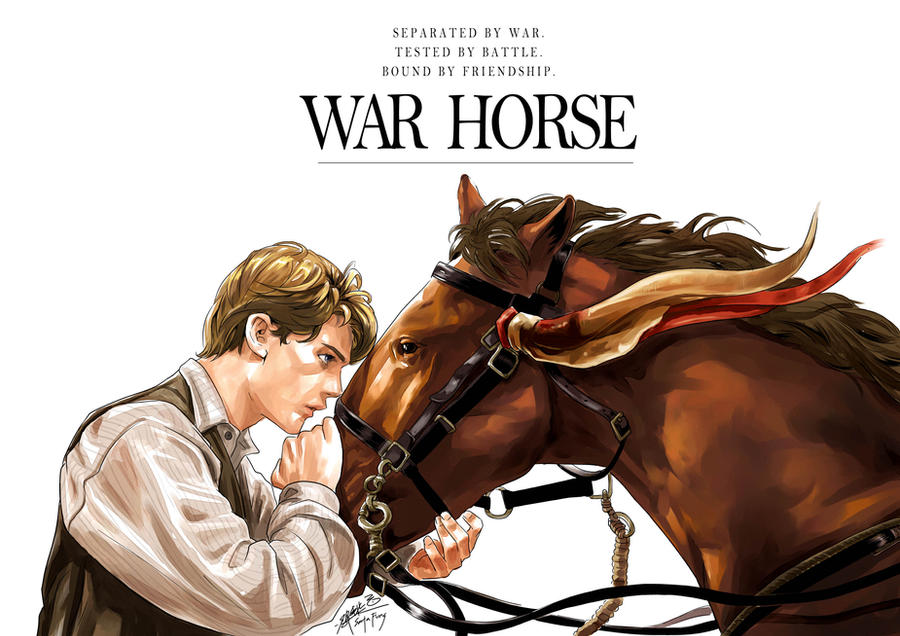 WAR HORSE by SantaFung