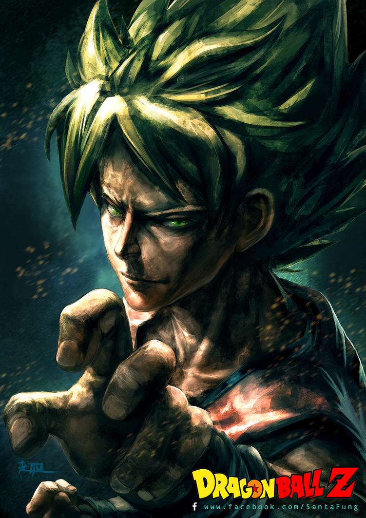 Dragon Ball Z_Goku by SantaFung