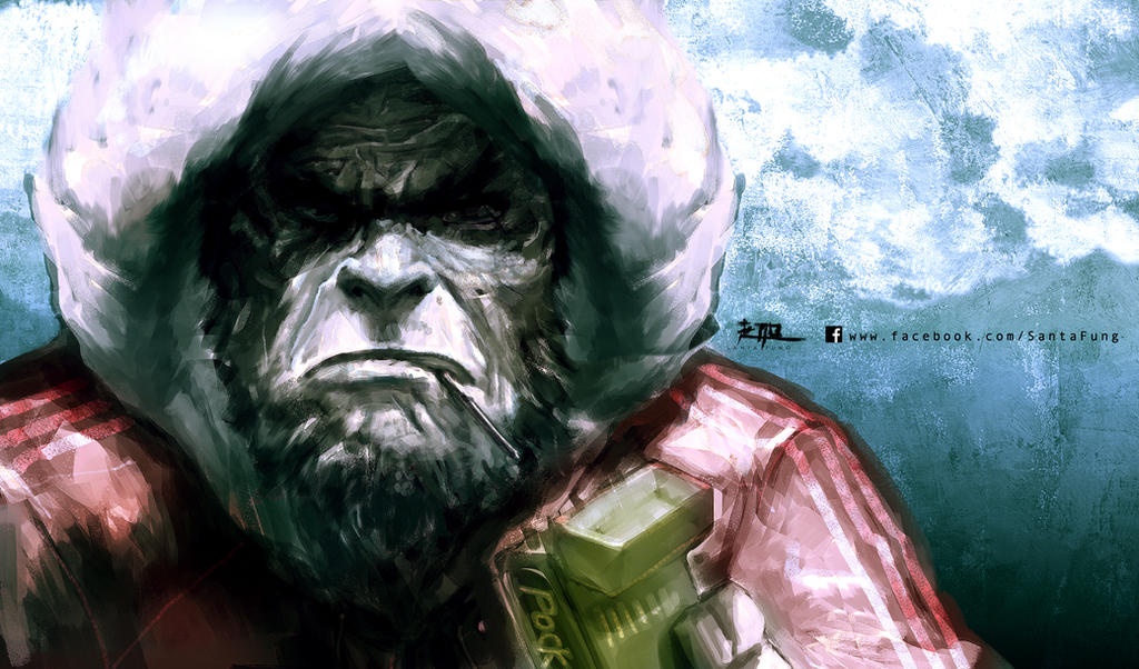 Ape by SantaFung