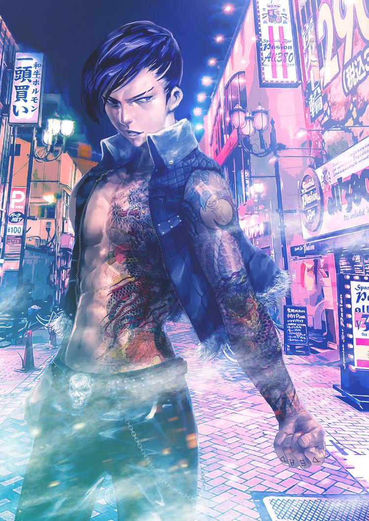 Yakuza by SantaFung
