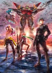Super Robot War CF 2014 by SantaFung