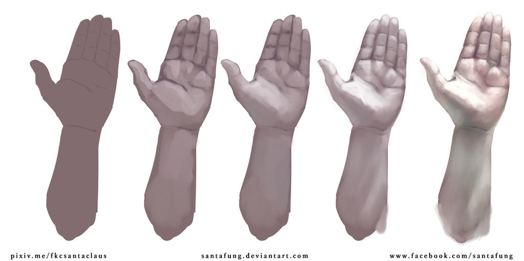 Hand_Study by SantaFung