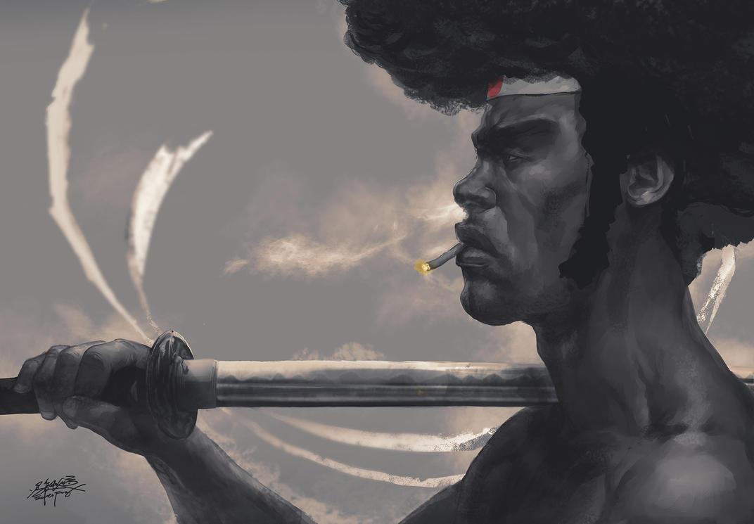 Afro Samurai by SantaFung