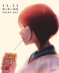 POCKY DAY by SantaFung