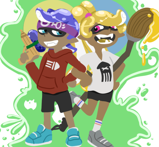 Squiddo kiddos by tigerwolf44