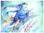 Birdflowers: Larkspur - July