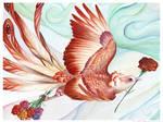 Birdflowers: Carnation - Jan.