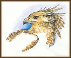 Golden Healer by windfalcon