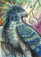 Blueberry - ACEO by windfalcon