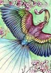 Spring Bird - ACEO