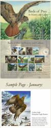 Birds of Prey -Thesis Calendar by windfalcon