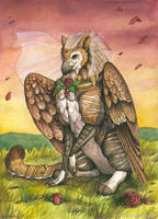 Gryphon Bride by windfalcon