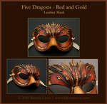 Five Dragons 2 - Leather Mask
