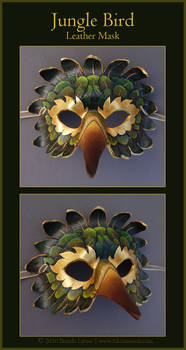 Jungle Bird - Leather Mask