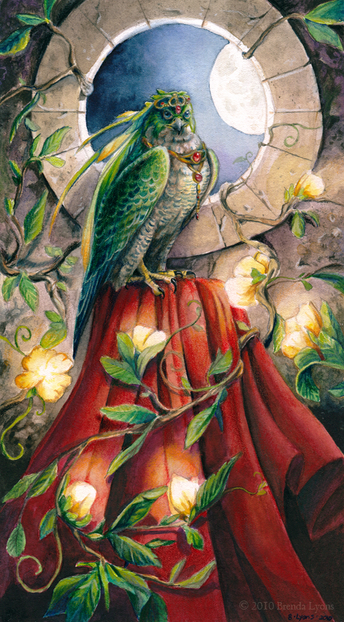 Priestess by windfalcon
